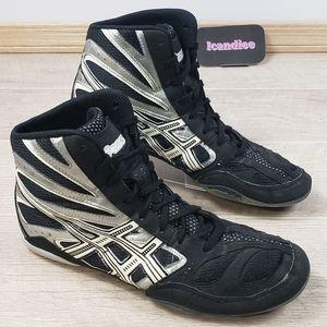 Asics Split Second Wrestling Shoes Black Gray